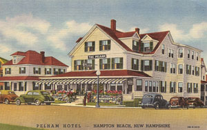 Hampton Beach Pelham Resort Hotel drawing